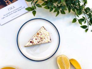 gâteau citron pavot chez suzzi kafé bordeaux brunch