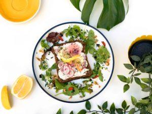 tartine skagen scandinave crevettes